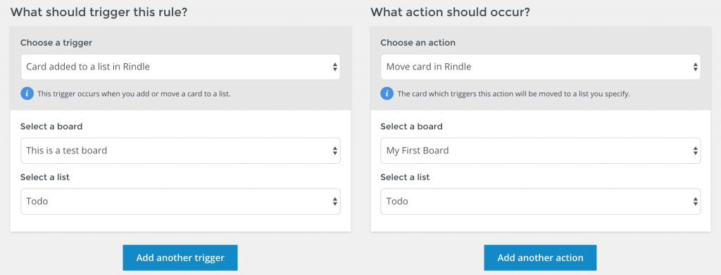 Automatically move cards from on board to another with Automation