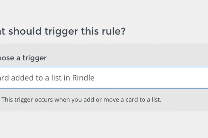 Rindle Automation