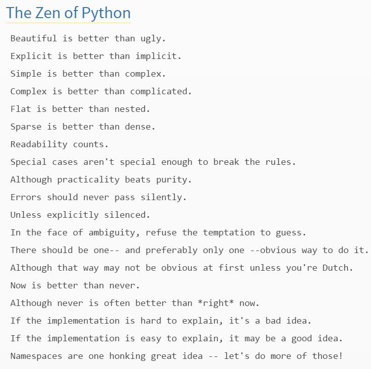 zen-of-python