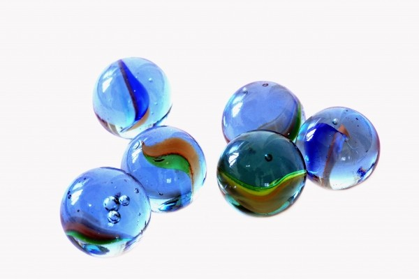 glass-balls-on-white-background
